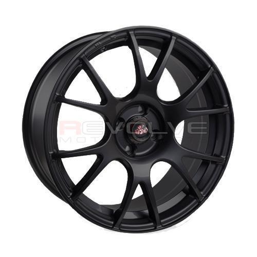 FIAT 500 ABARTH COMPETIZIONE CV2 WHEELS - MATTE BLACK